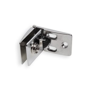 SATINATED CENTRAL GLASS DOOR HINGE
