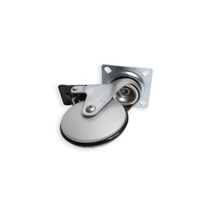 ALUMINUM CASTOR WITH BRAKE